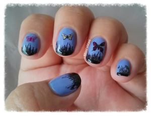 MoYou butterfly mani 2