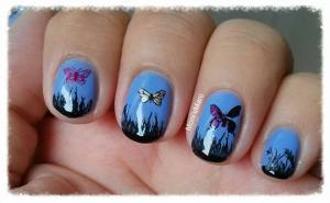 MoYou butterfly mani