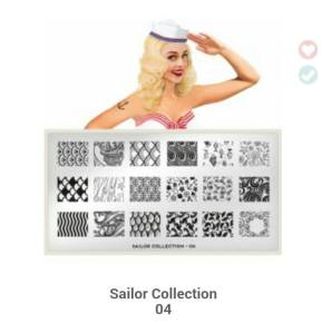 MoYou sailor plate