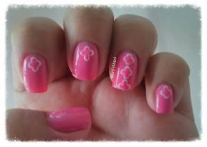 shine & sheen pink mani 2