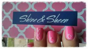 shine & sheen pink mani 3