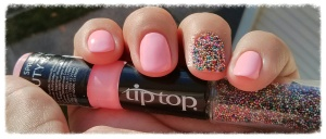 tip top Beauty and the beach nail art