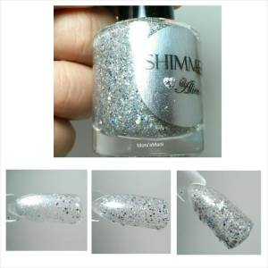 shimmer polish alice swatch stick