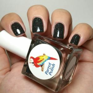 parrot polish galaxy botle
