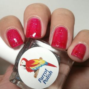 parrot polish jelly alone