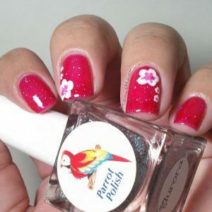 parrot polish  jelly bottle