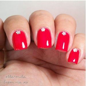 ella mila samba from rio nail art