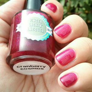 finger lickin lacquer cranberry cosmos outside 1