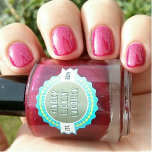 finger lickin lacquer cranberry cosmos outside 2