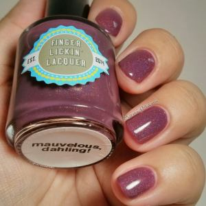 finger lickin lacquer  mauvelous 1