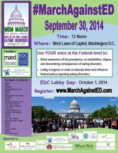 march against eating dissorders