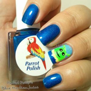 parrot polish blue martian juice 2