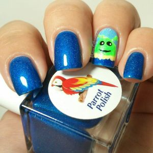 parrot polish blue martian juice 3