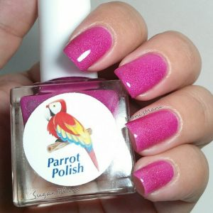 parrot polish sugar plum 1