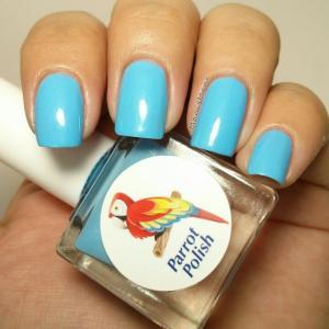 parrot polish twitter blue 2