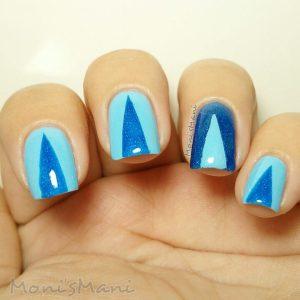 parrot polish twitter blue nailart
