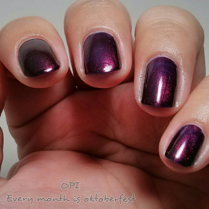 OPI- Every month is Oktoberfest | Monismani